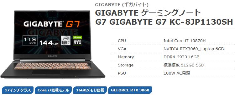 GIGABYTE G7top
